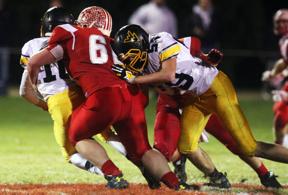 prep football playoffs  st  ansgar knocks out wapsie