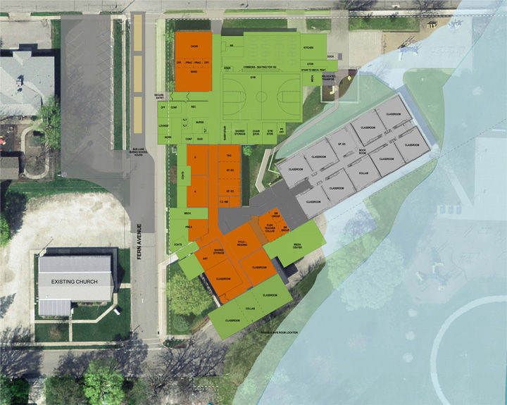 North Cedar master plan