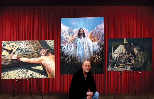 Brush With Faith Allison Artist Sees Paintings As Ministry