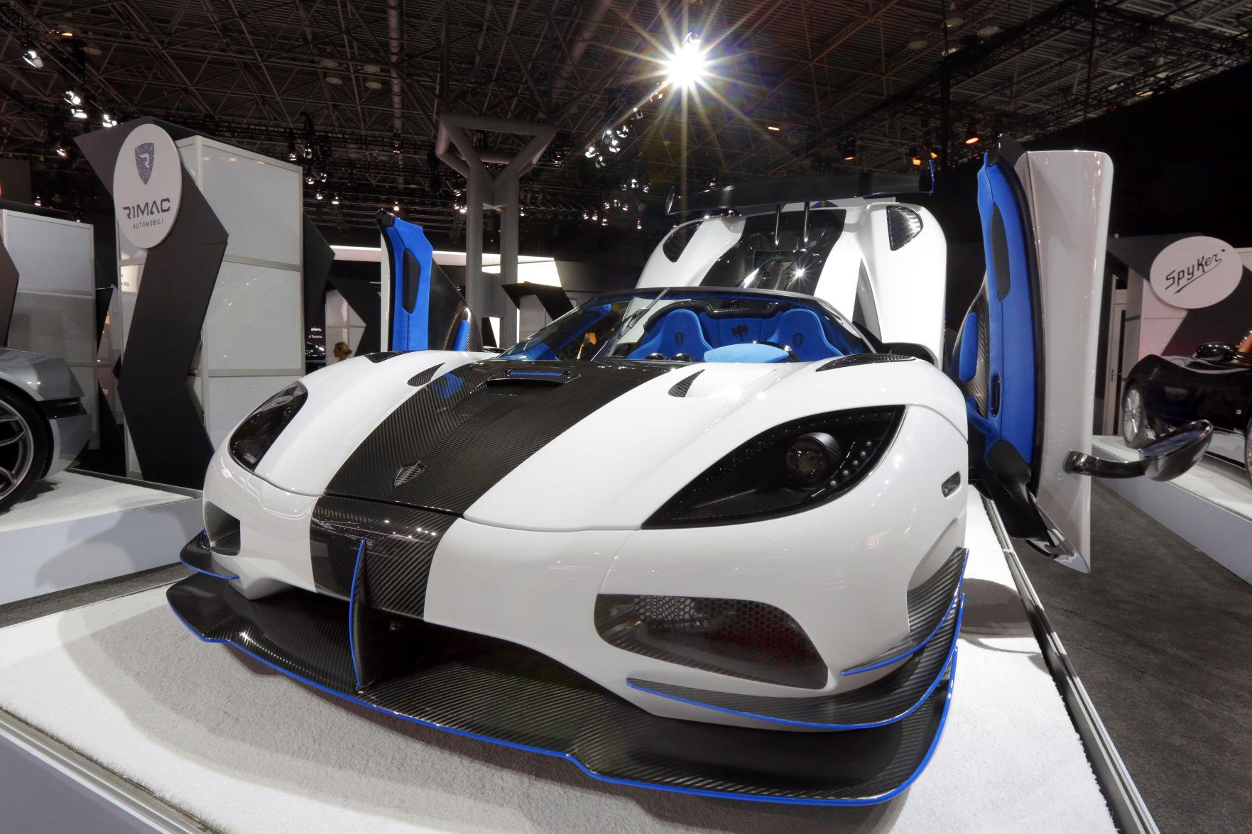 photos scenes from the new york international auto show autos rh wcfcourier com