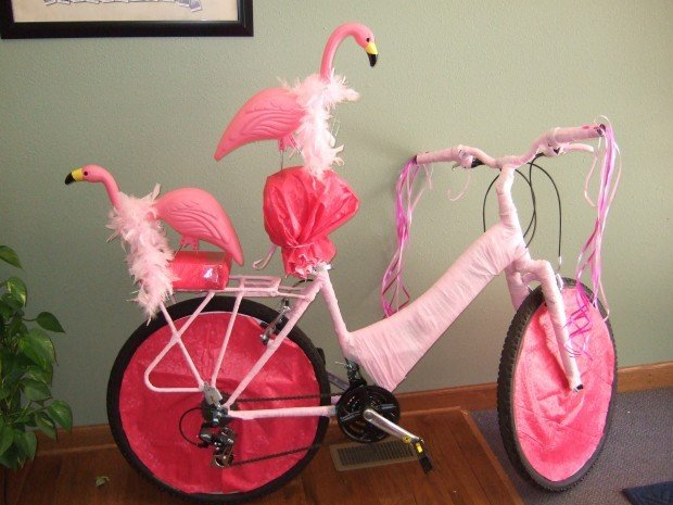 Abbott Law Office Bicycle Honored As Best Decorated