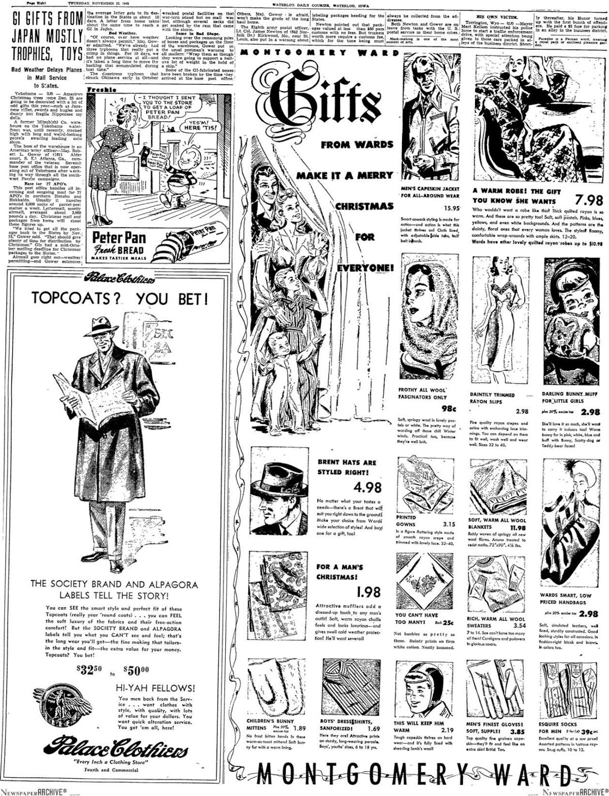 Courier holiday ads throughout the years | Lifestyles | wcfcourier.com