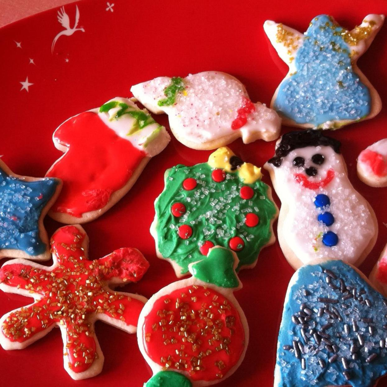 Christmas Cookies Royal Icing.Christmas Cookies Rule When Decorated With Royal Icing