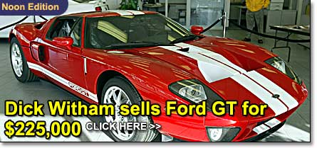 Dick Witham Sells Ford Gt For