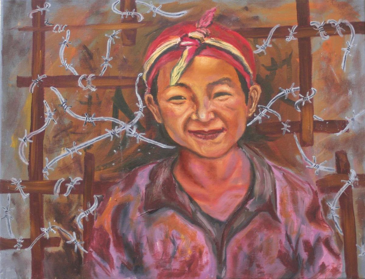 Biennial-Gurung Deu-Imprison-Smile-(HCC)