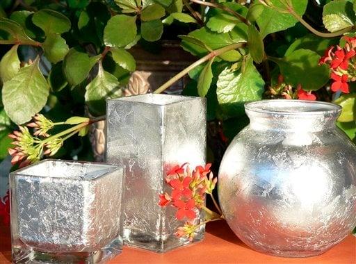 Make Your Own Decorative Mercury Glass Vases Votives Wcfcourier