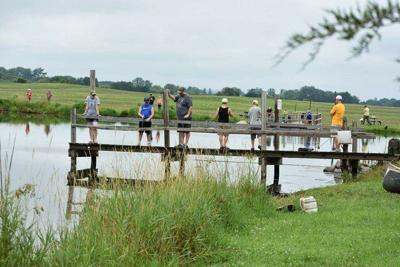 Kids fishing tourney