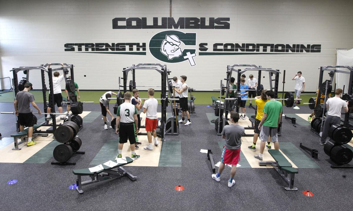 Columbus High School opens strength, conditioning center | Education