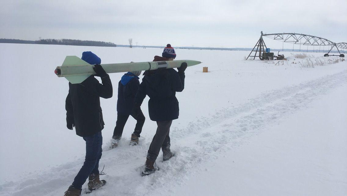 Rocket club launch 2