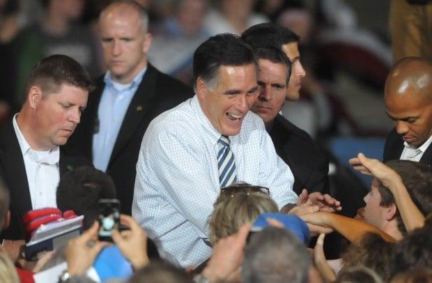 Romney in Cedar Rapids