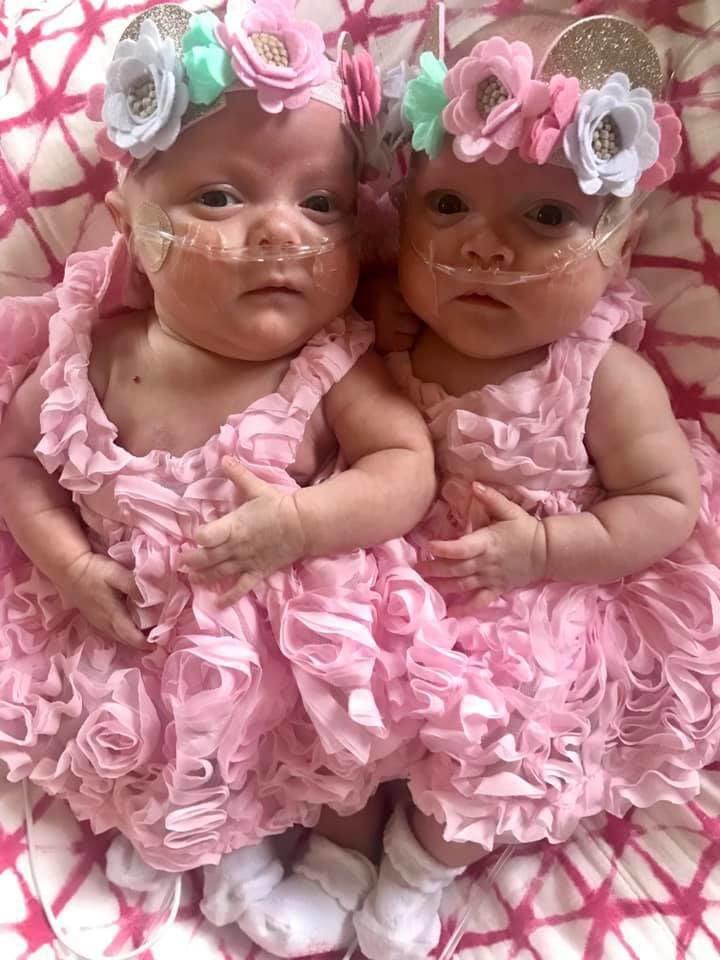 Ewoldt twins Easter