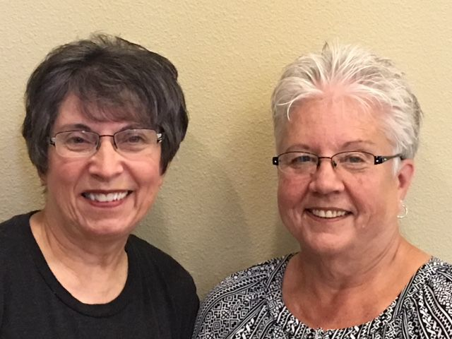 Sharon Limback and Debbie Newton