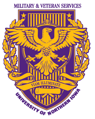 UNI Military and Veteran Student Services logo