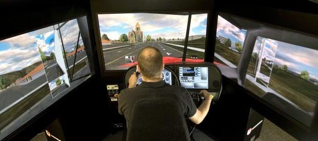 Virtual Driving Hcc Adds Simulator To Trucker Training