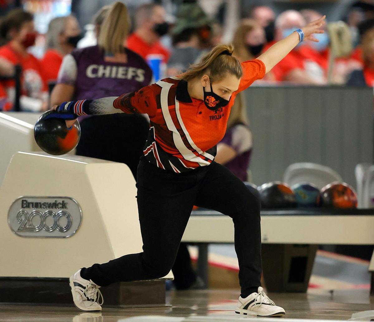 2A state bowling Burge