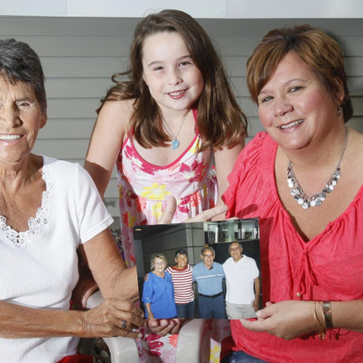 Siblings reunite after 70 years   Local News   wcfcourier com
