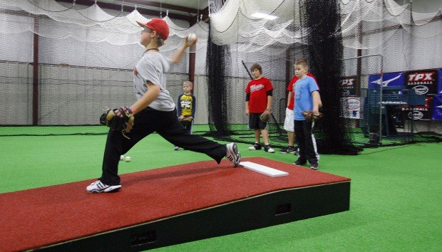 new facility offers new chances for local baseball softball players