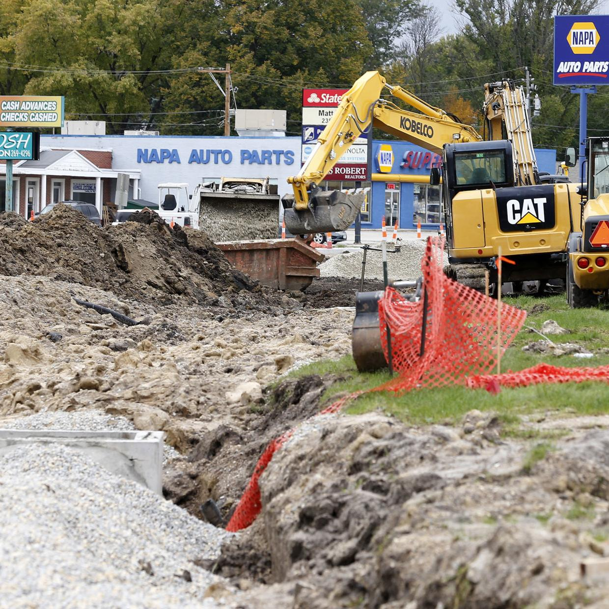 Wet weather swamps road construction pace | Political News