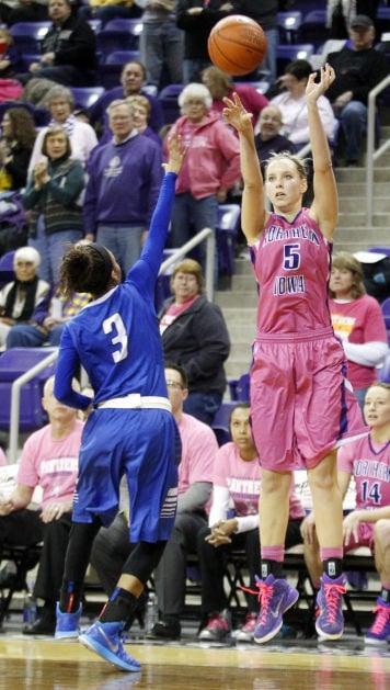 Womens Basketball Uni Smothers Indiana State, 64-29 -9969