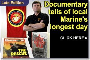 Evansdale Marine interviewed for History Channel show on Mayaguez incident