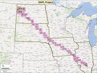Dakota Access Pipeline Iowa Map.Update Attorneys Dispute Merits On Controversial Iowa Pipeline