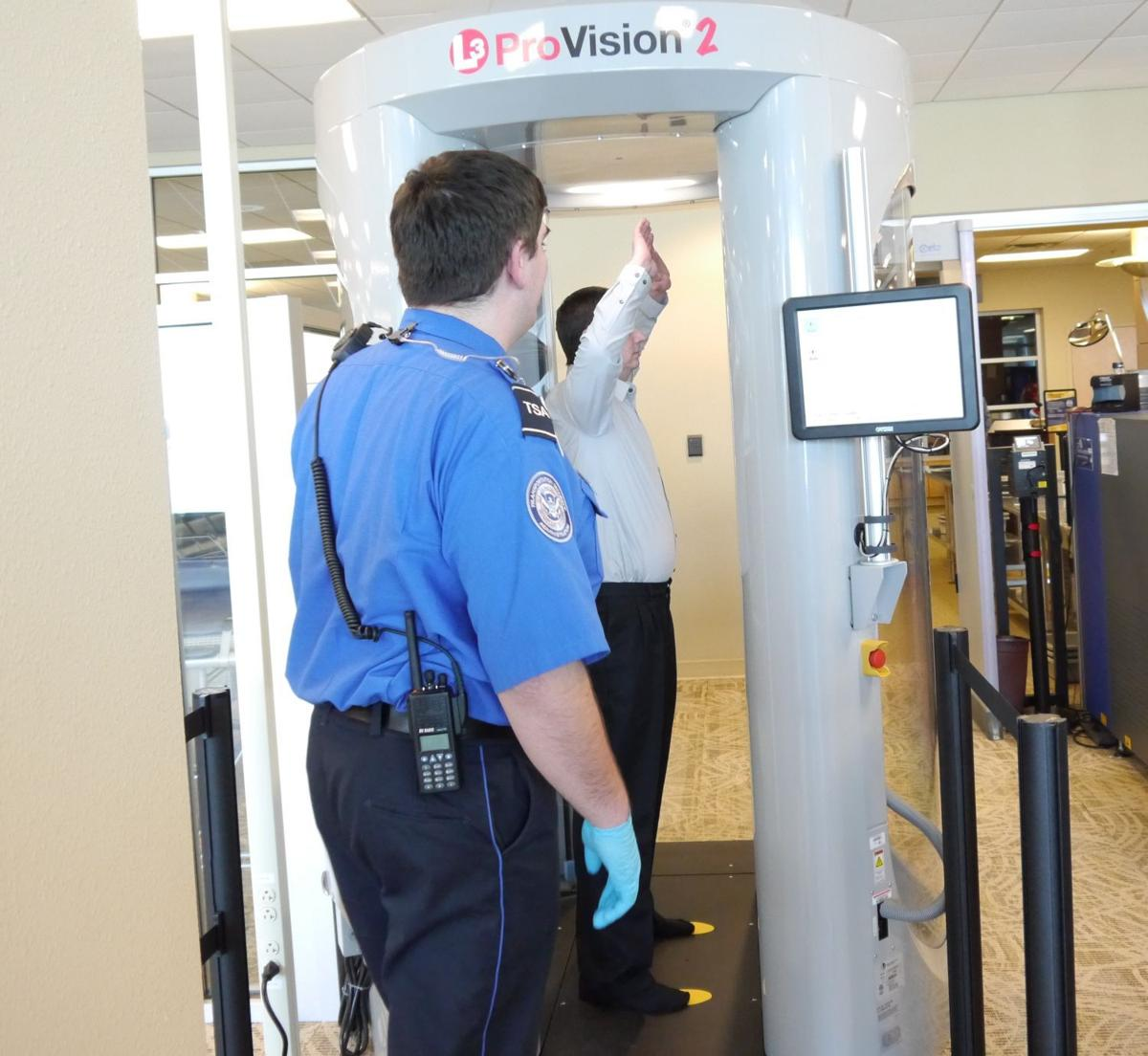 TSA imaging unit 2