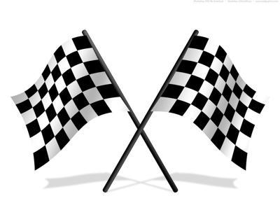 Auto racing clip art