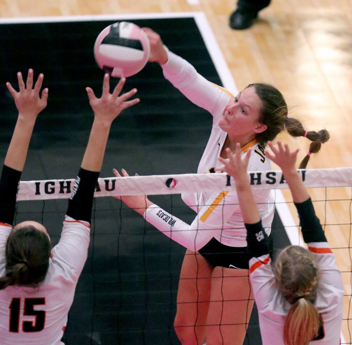 bc3f255d7e31 All-State volleyball  Janesville s Thompson repeats as Player of the ...
