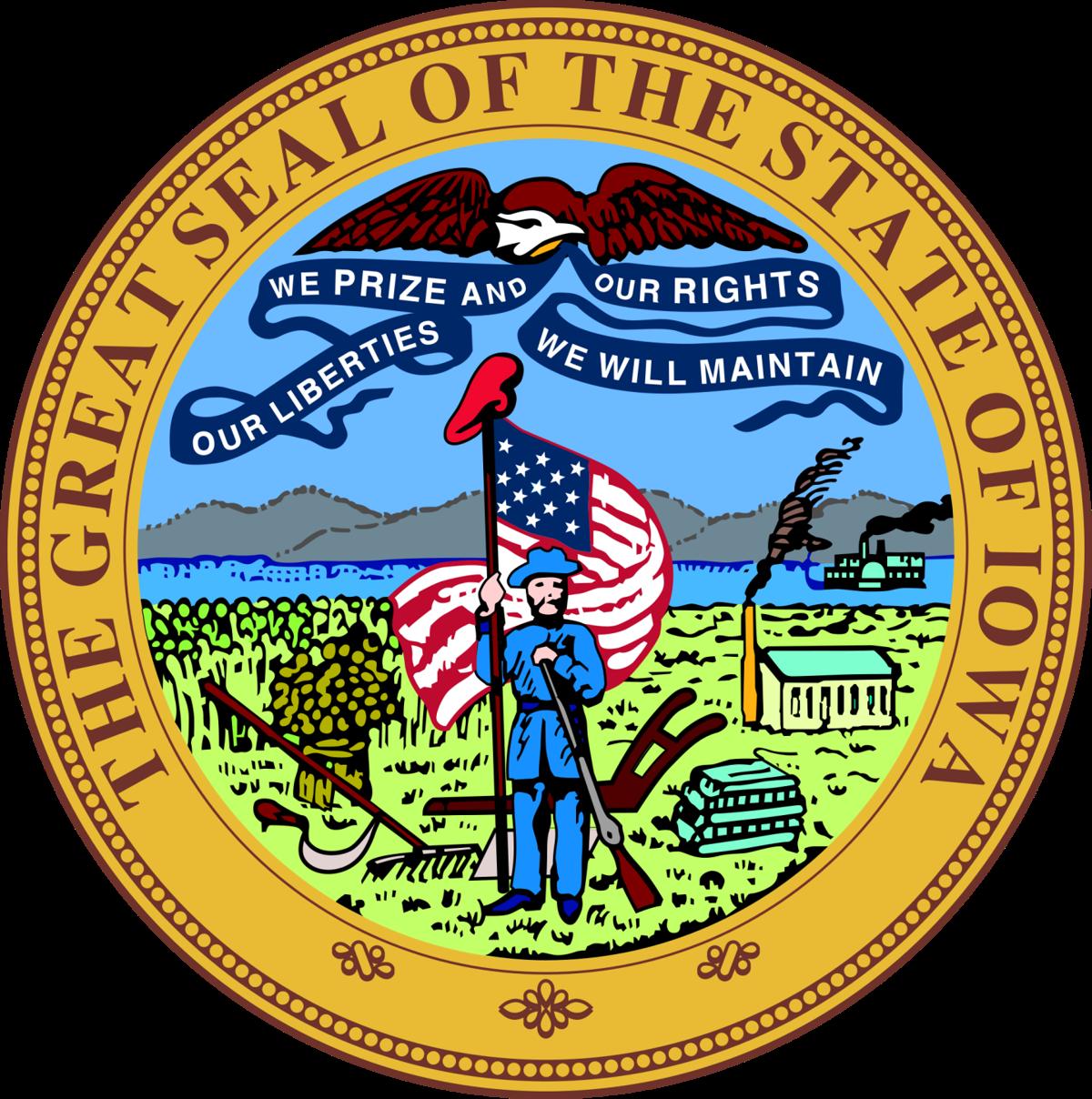 State of Iowa logo