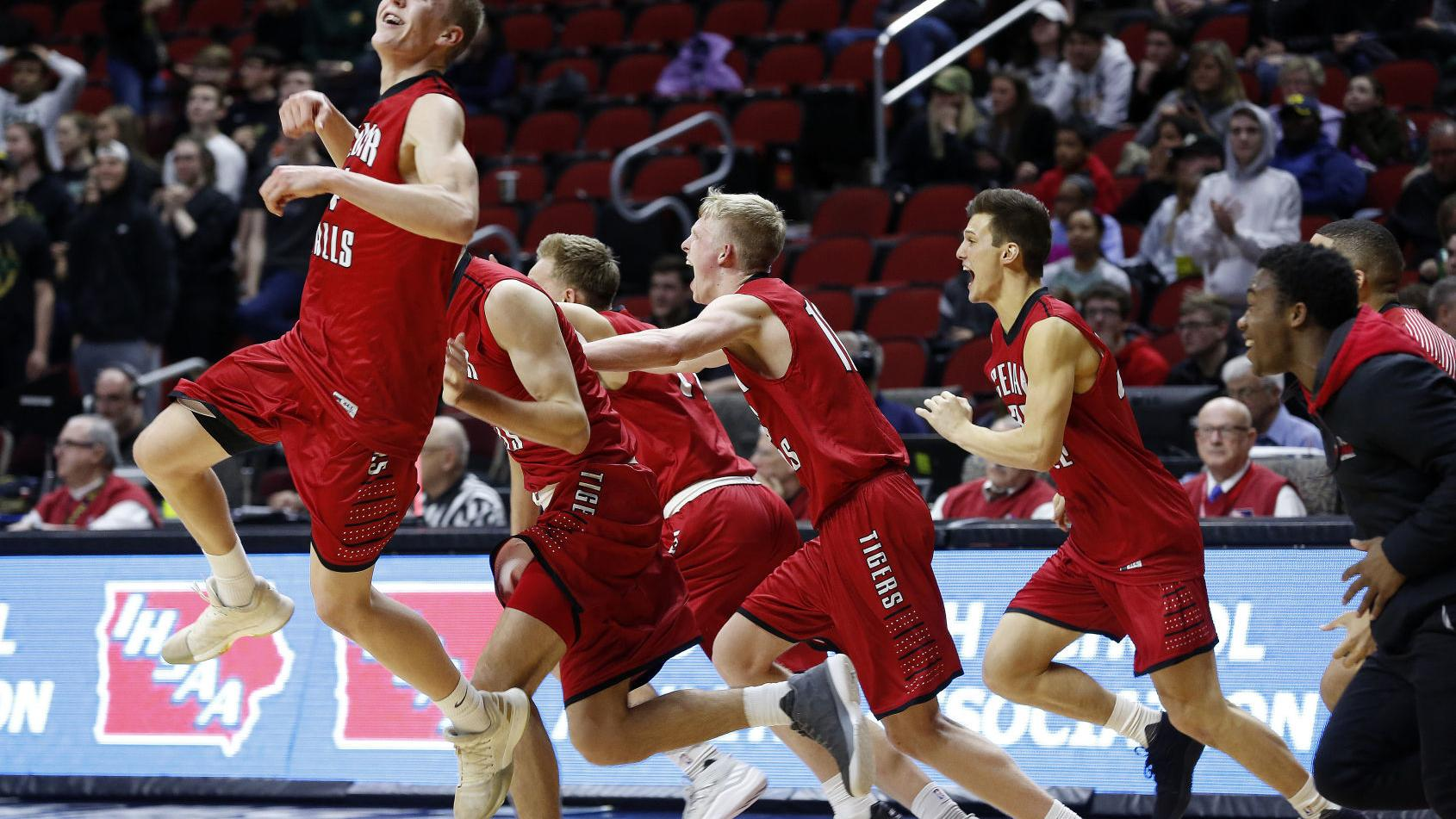 Boys' state basketball: Cedar Falls captures first state title in convincing fashion, 65-45
