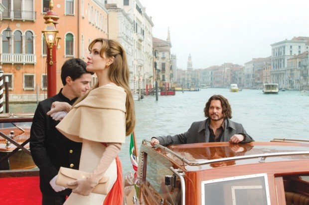 Going nowhere: Depp and Jolie lack chemistry in 'The Tourist'   Movie  Reviews   wcfcourier.com