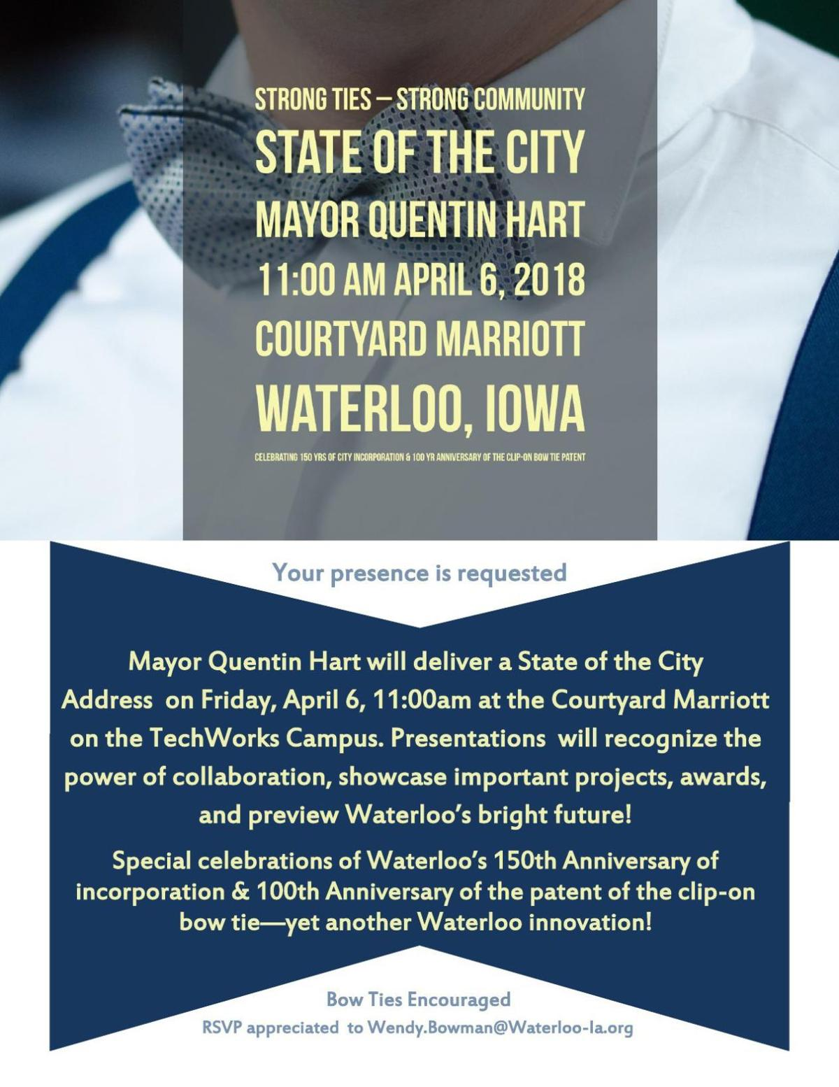 PDF: Invitation to the State of the City 2018