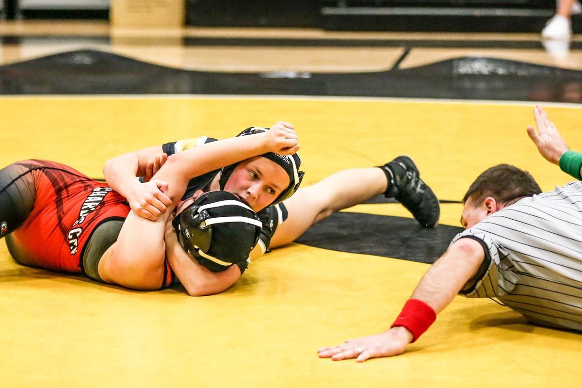 WSR girls wrestling -- Jacey Meier