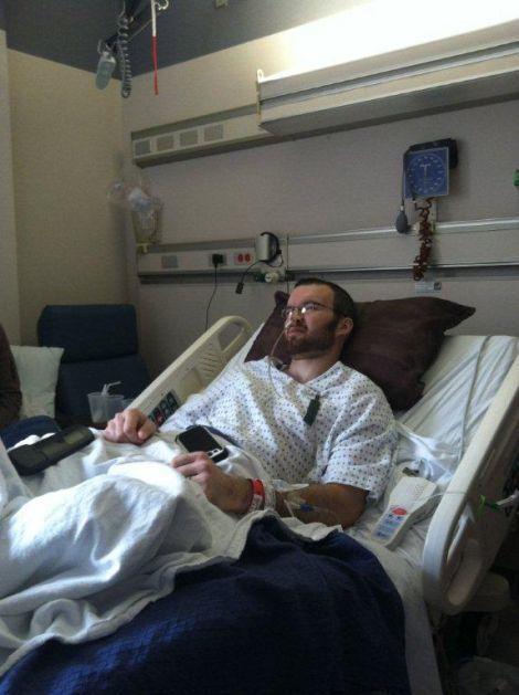 Brandon Brase hospitalization
