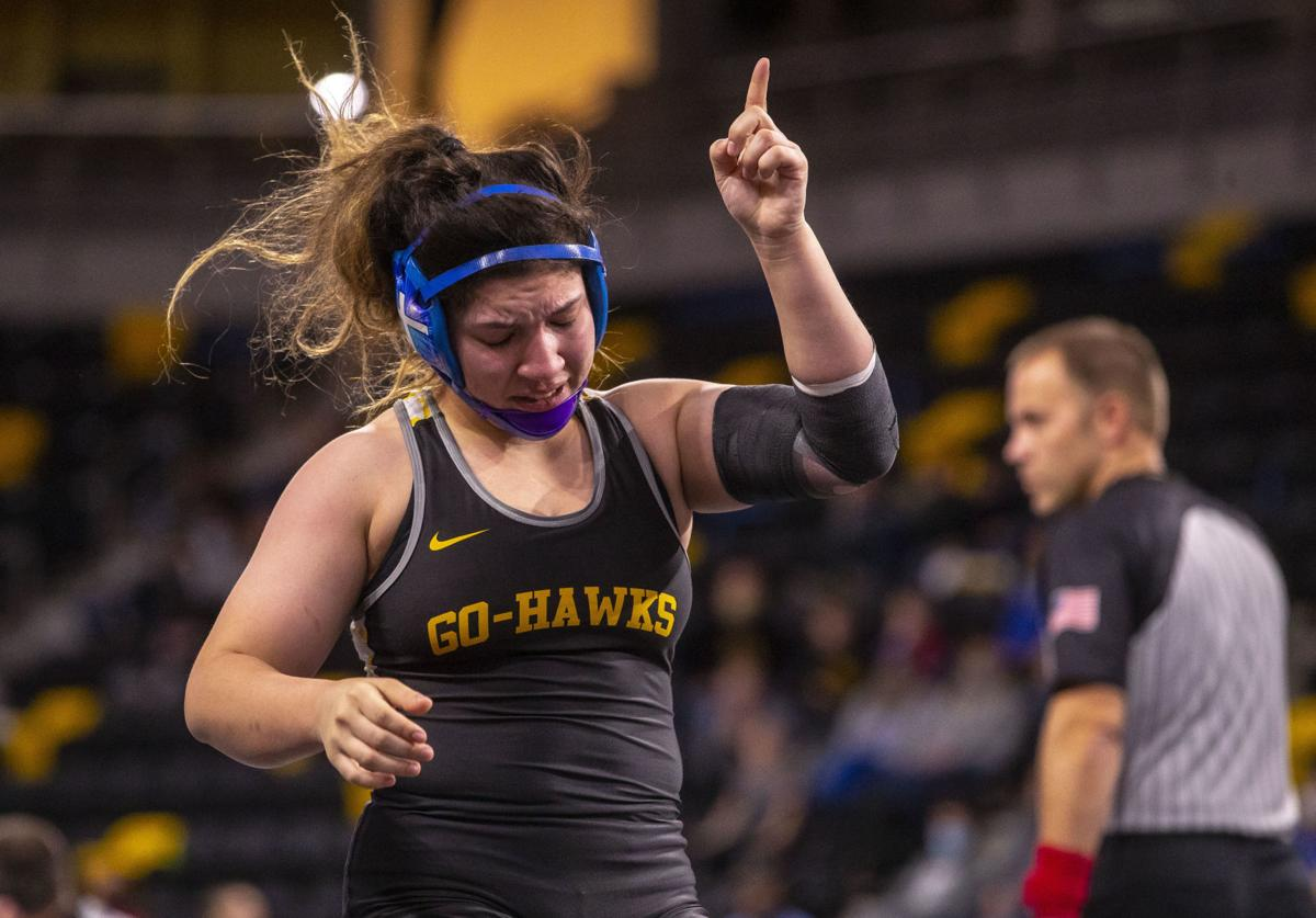 Girls State Wrestling Final 22