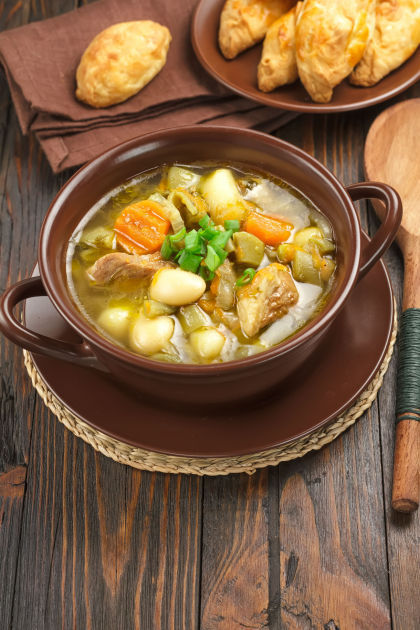 dilled-chicken-soup-stew