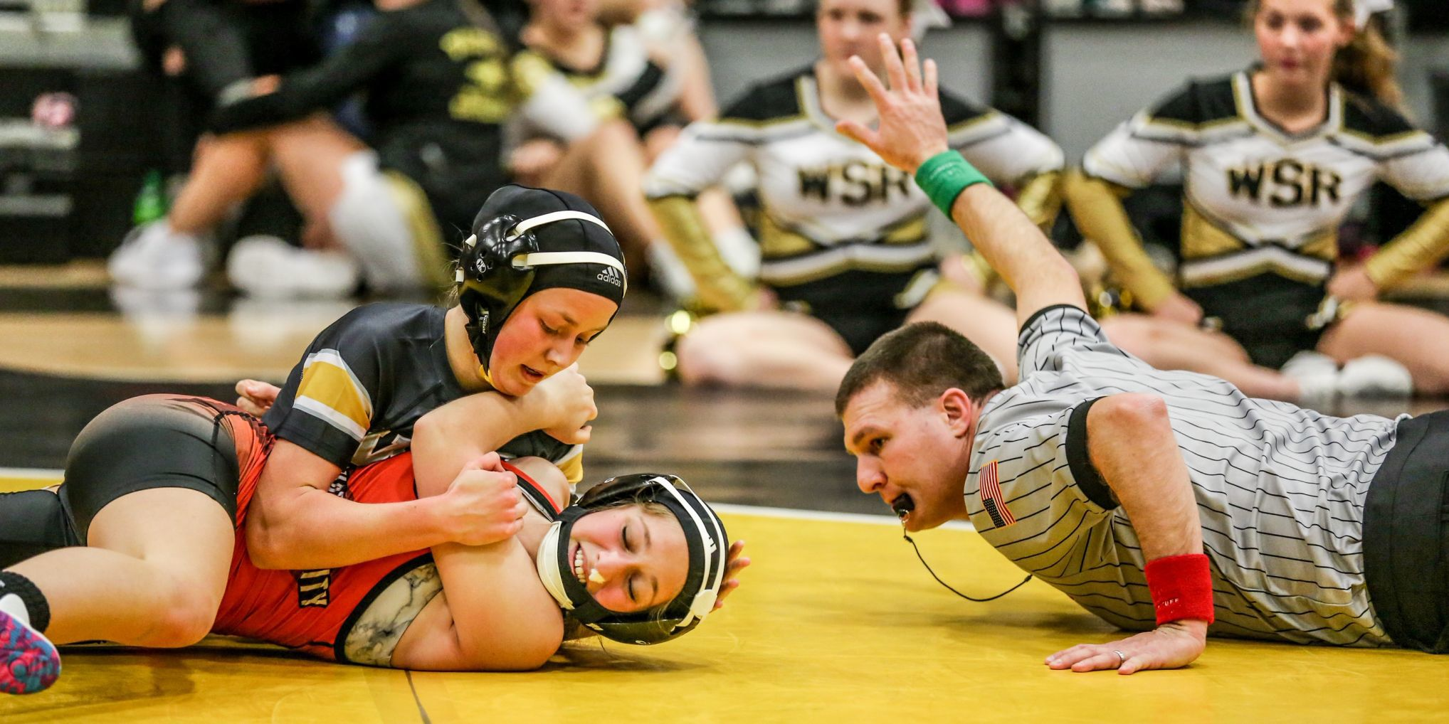 Wrestling leads to banging