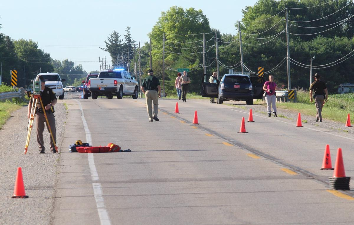 UPDATE WITH NAME: One dead in bicycle crash in Washburn