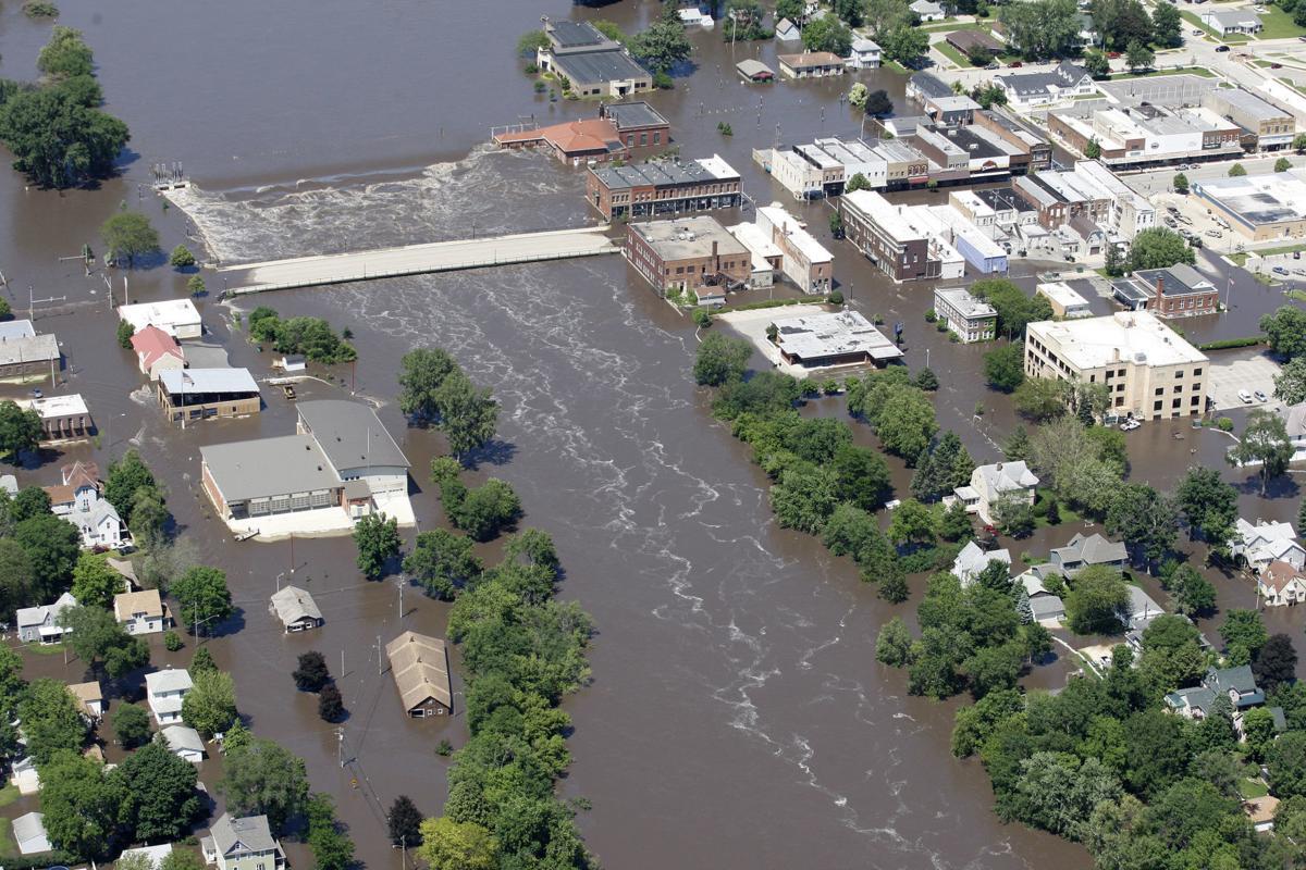Aerial Flood photos