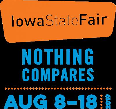 Iowa State Fair 2019 logo