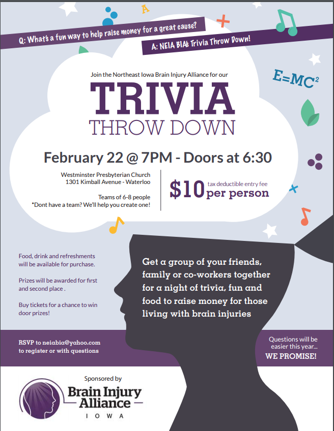 NEIA BIA's Trivia Throw Down Night!