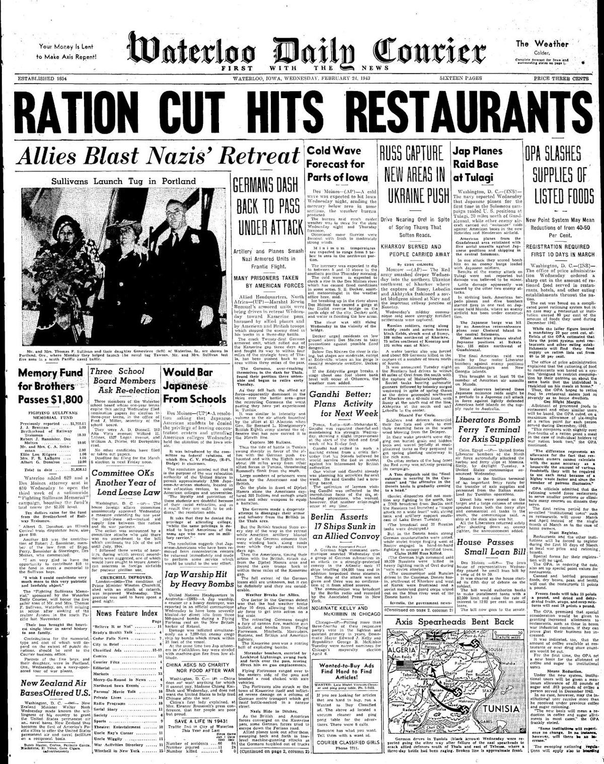 Courier Feb. 24, 1943