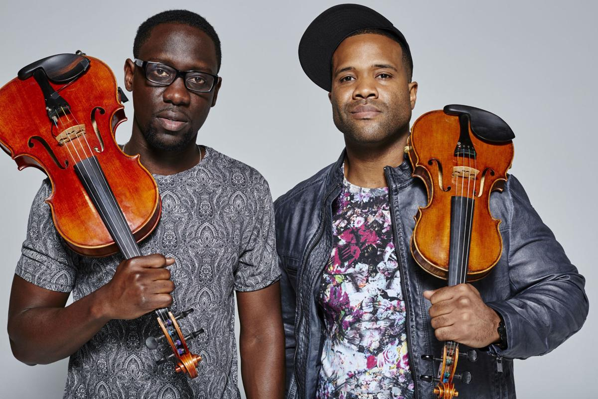 Image result for Black Violin: Classical song meets hip-hop at Gallagher Bluedorn