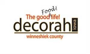 decorah iowa logo