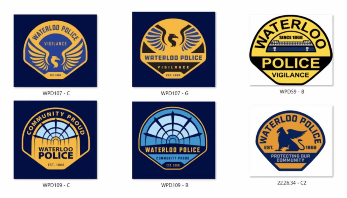 Waterloo Police Logo Designs