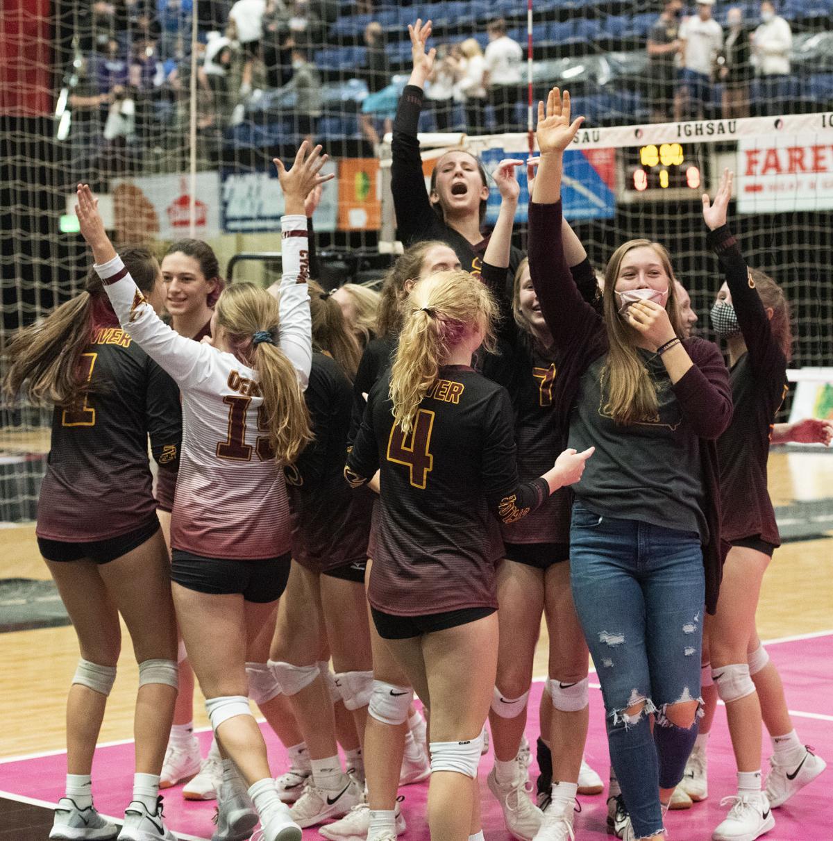 Western Christian vs Denver state volleyball