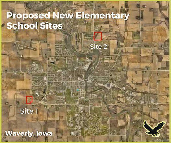 Waverly school sites