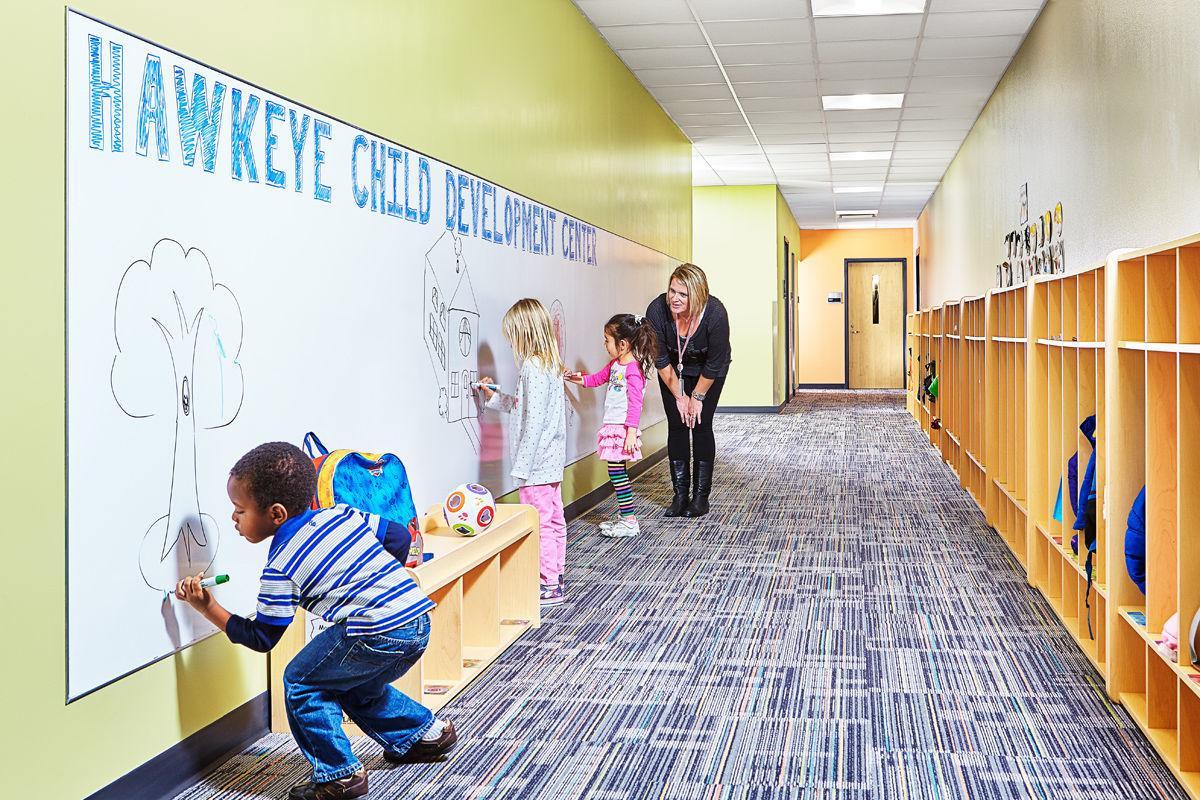 Hawkeye Community College child development center