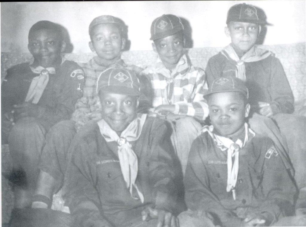 Waterloo Cub Scouts in 1959