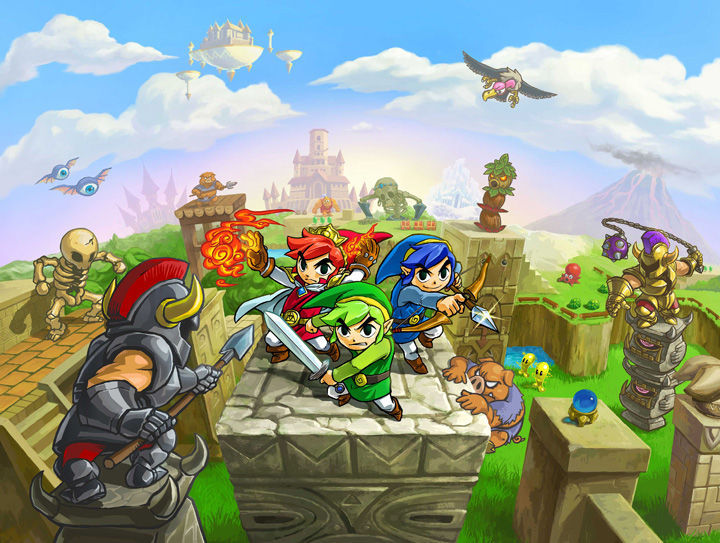 Tri Force Heroes - Web Art